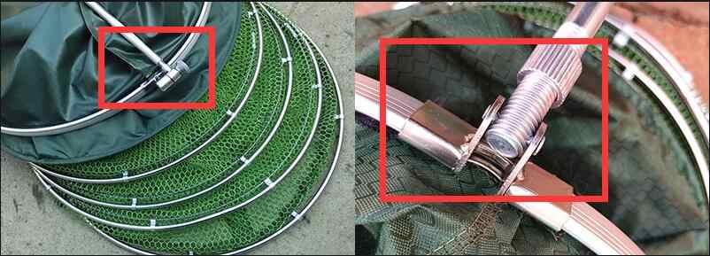 2m/2.5m/3m/4m filet de pêche avec sac à séchage rapide collé pêche piège filets pliable écrevisses pièges carpe accessoires de pêche B303