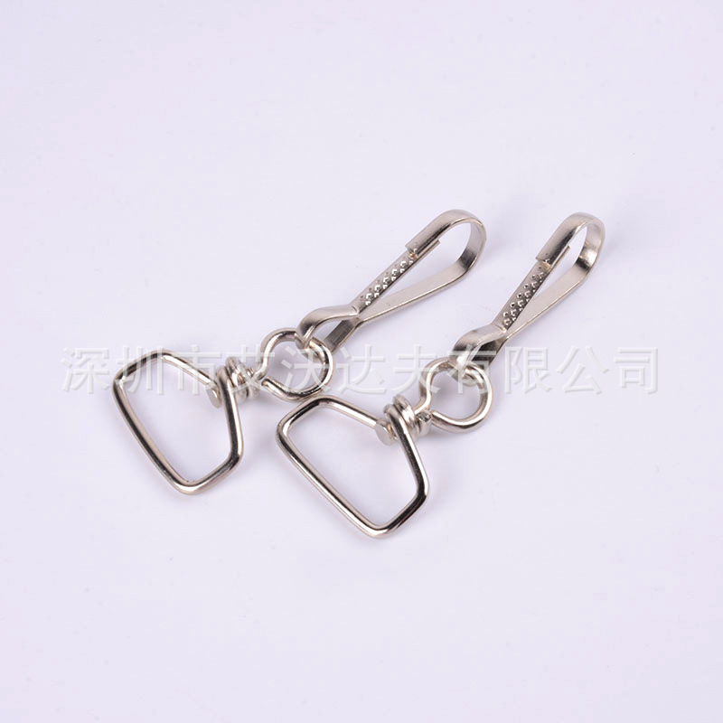 Wholesale Rotating Keychain Pig Gall Buckle Embossed Pig Gallbladder Shaped Clip Style Completed 6 Points Twisting Line + 32 Emb