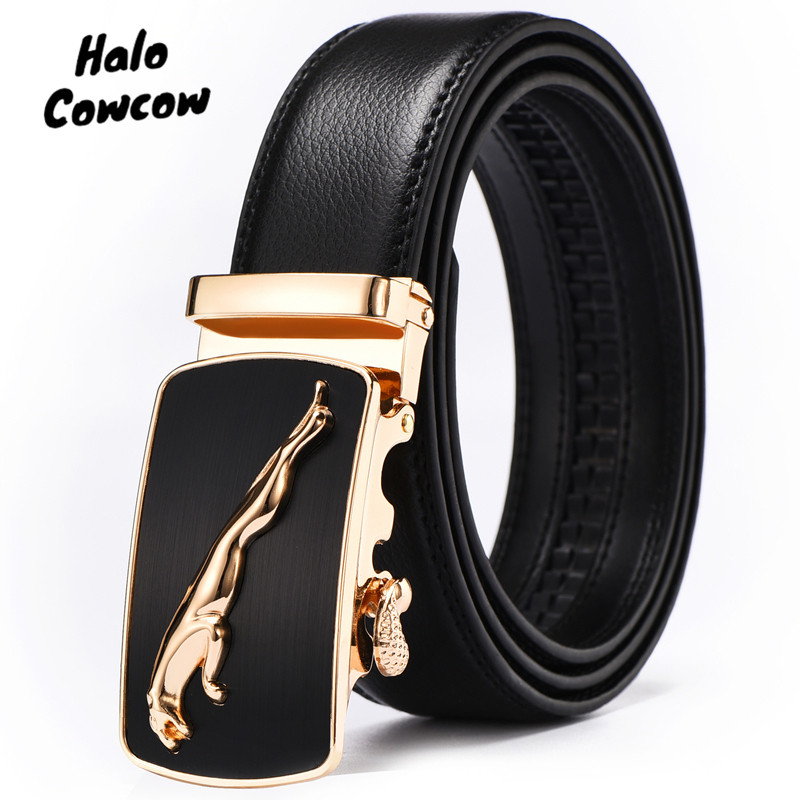 Casual Men Big Size 140 150 Belt Strap Real Genuine Leather Luxury Brand Design Automatic Buckle Belts For Jeans Cummerbund Male