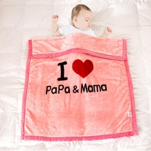 Baby Nursery Blanket Quilt Big Size 100*120CM Kids Boy Girl Sofa Bedding Blankets Child Quilts Photograph Prop Blanket couette