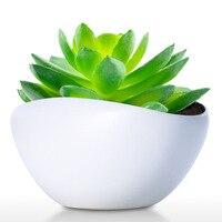 Ceramic Pot Modern Planter Pot Decor for Home Office Weddings Parties Tabletop Centerpiece Flower Pot
