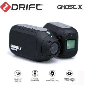 Cámara de acción deportiva Drift Ghost X, cámara corporal HD de 1080P, cámara para exteriores, casco WiFi, acción DVR, Kamera, Control con aplicación