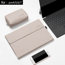 Men Laptop Tablet Sleeve for Microsoft Surface Pro 6 New pro 7 Angles Folio Stand Case for Surface Pro 5 4 Women Laptop Bag
