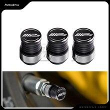 אביזרי אופנוע גלגל הצמיגים Valve Caps עטיפות מקרה עבור Piaggio MP3 250 300 500 HPE ספורט קטנוע
