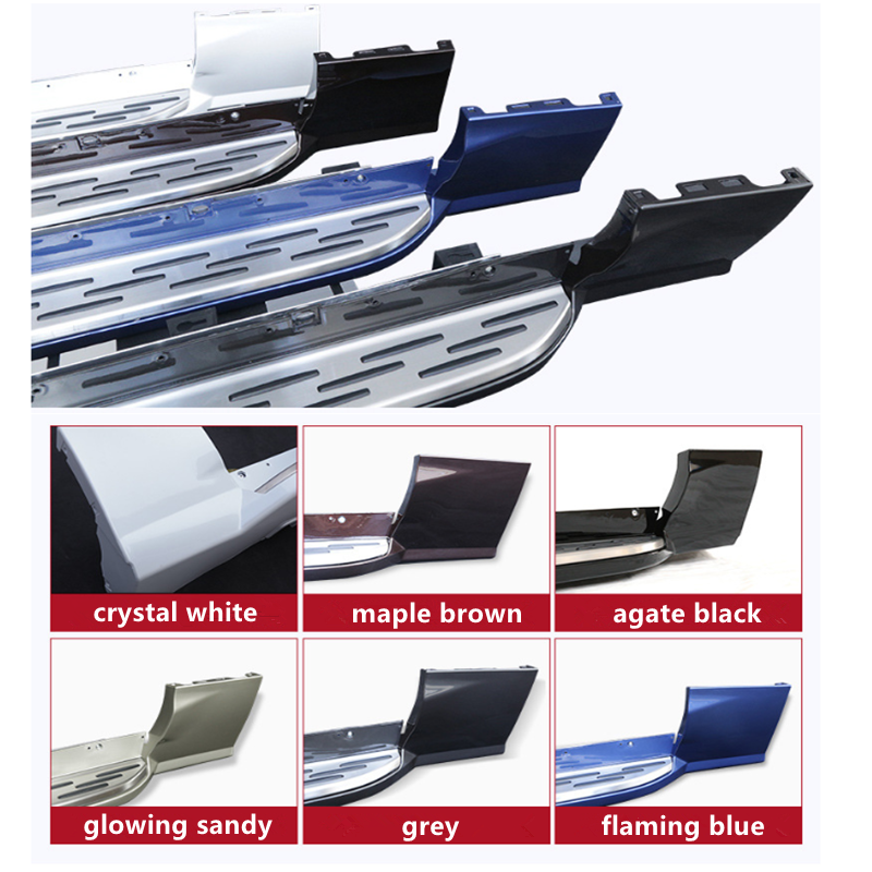 SUV Aluminium Alloy Running Board For <font><b>VOLVO</b></font> <font><b>XC60</b></font> 2018 <font><b>2019</b></font> 2020 Side Step Nerf bar image