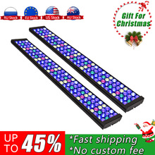 2PCS PopBloom 75 cm aquarium led lamp Marine LED light coral Led Marine aquarium sea aquarium reef tank Led SPS LPS MJ7BP2