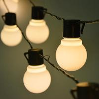 5 M/10 M/15 M/20 M LED del Globo lampadina Del Festone esterno leggiadramente della stringa della luce della parete lampada da giardino patio festa Di Natale della decorazione 220V 110V
