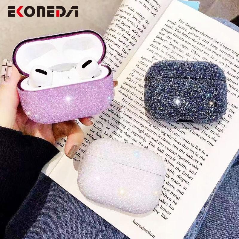 EKONEDA Bling kuti diamantesh luksoze për kasetë Airpods ngjyra - Audio dhe video portative - Foto 3