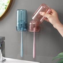 Настенный держатель для зубных щёток и пасты