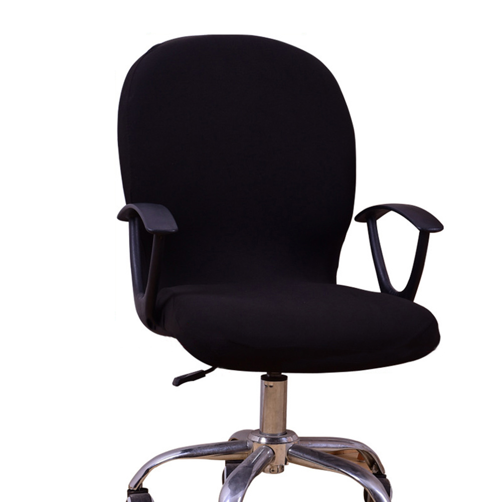 Swivel Chair Cover Stretchable Removable Computer Office Washable Rotating Lift J99Store