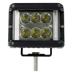 Liweida лобовое стекло автомобиля передний бар налобный фонарь светодиодный белый светильник техническое обслуживание лампа 60 Вт три стороны ...