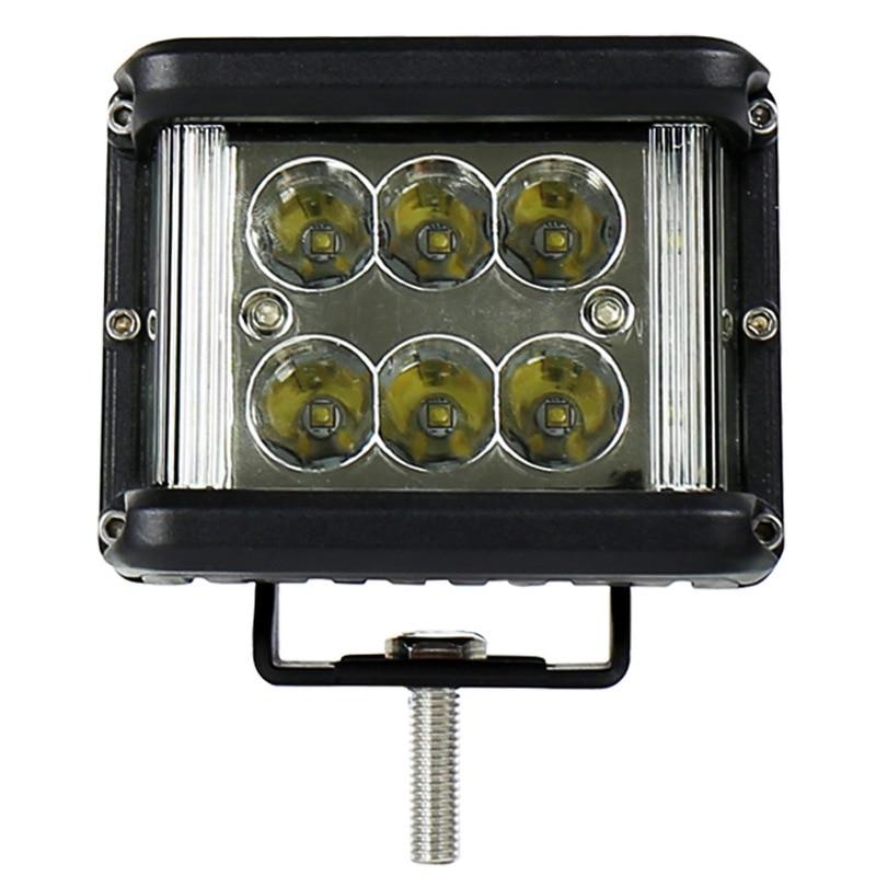 Liweida Automobile Windshield Front Bar Headlamp LED White Light Maintenance Lamp 60W Three Side Luminous Work Light