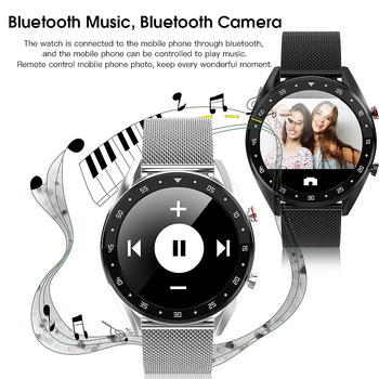 2019 Bluetooth smart watch Blood pressure monitor IP68 smart Sport bracelet waterproof for Android for IOS Monitor Smartwatch L7