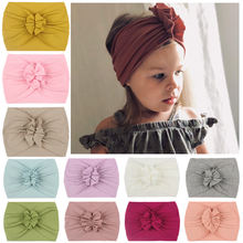 2020 новый детский ободок с цветами Мягкий Кролик бантик тюрбан