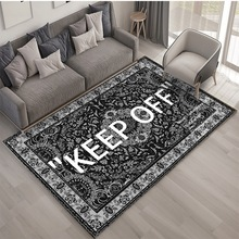 2021 KEEP OFF Printed Carpet Living Room Floor Mat Bedroom Bedside Bay Window Area Rugs
