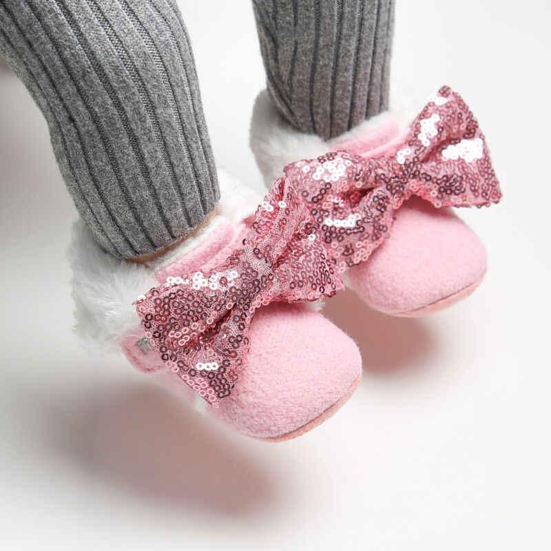Party Ballerina Booties Christening Baptism เด็กสาวรองเท้าเด็กสำหรับทารกชุดเลื่อมสาวรองเท้าเด็กแรก Walker พร้อมสายคาดศีรษะ