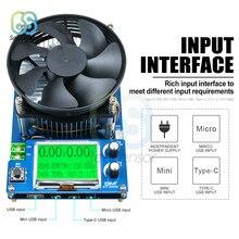 150W 10A ayarlanabilir sabit akım elektronik yük pil test cihazı lityum pil kapasitesi monitör deşarj şarj güç ölçer