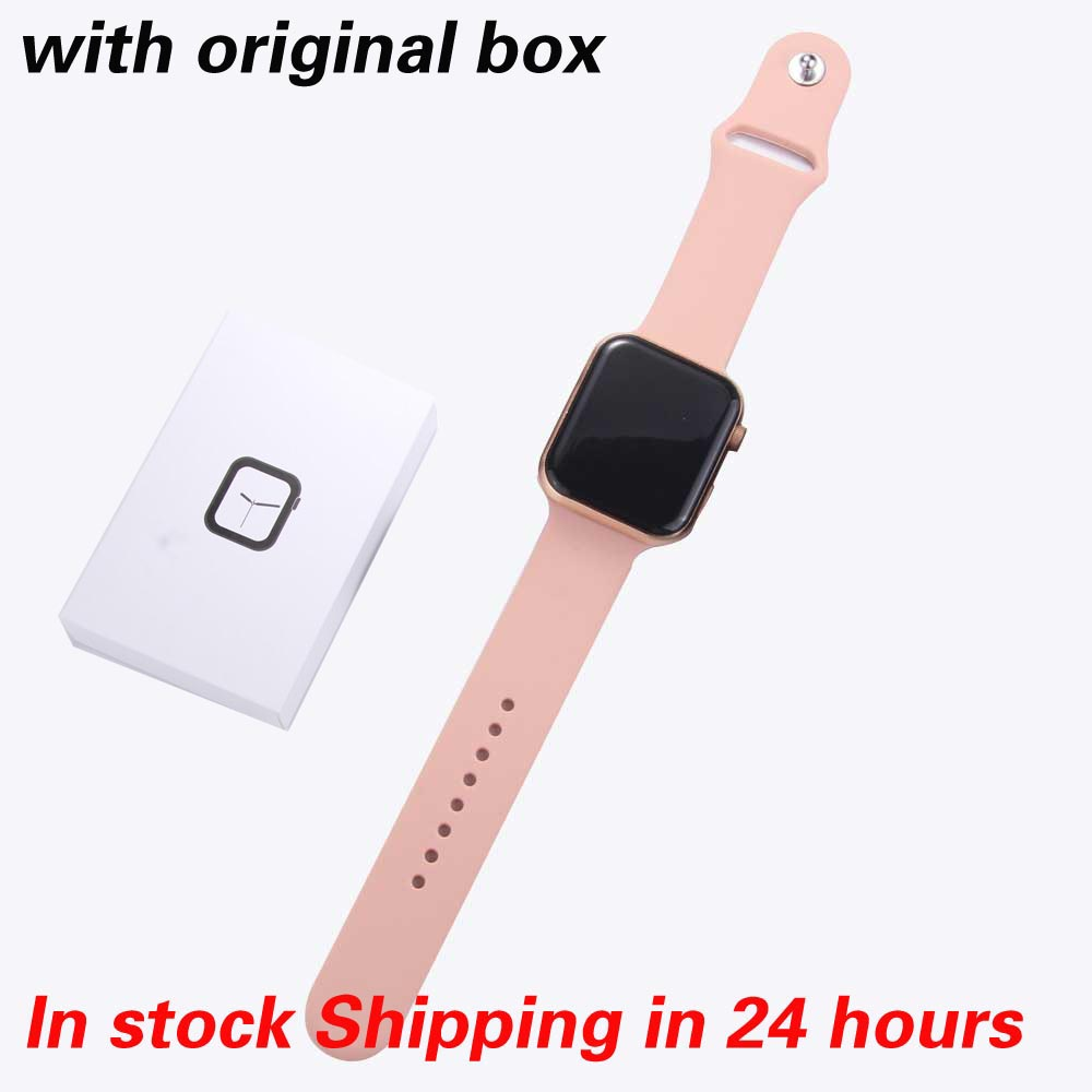 F10 Smart Watch Men Full Touch Screen Heart Rate Blood Pressure Sport Tracker Fitness PK iwo 12 11 max Watch Connect Android IOS
