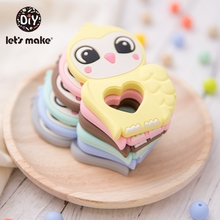 Let'S Make 5PCS Silicone Teether Glove Rodent Owl Teether Ba