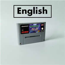 Segredo de mana 2 rpg cartão de jogo eur versão inglês idioma bateria salvar