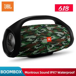 JBL BOOMBOX Loudspeaker Subwoofer Ipx7 Waterproof Portable Original Wireless Musical