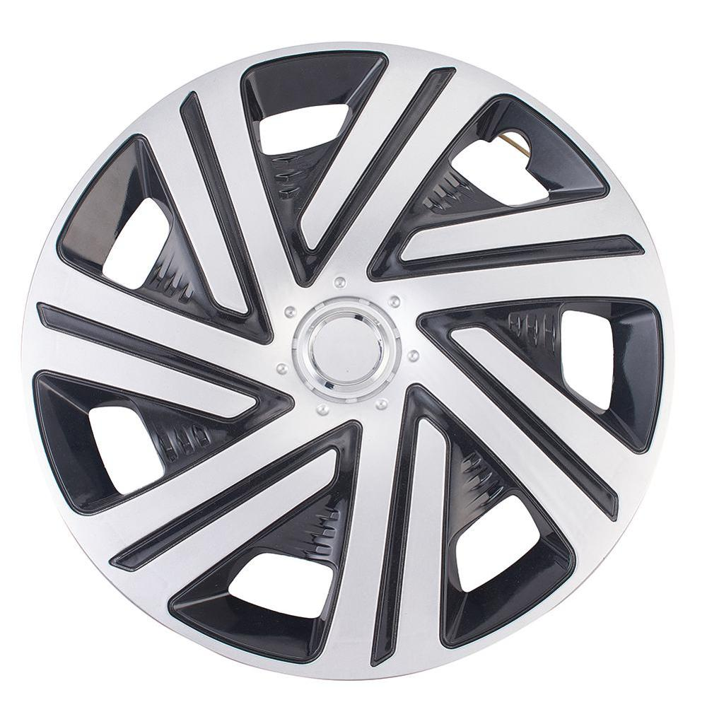 <font><b>14</b></font> Inch <font><b>Car</b></font> <font><b>Wheel</b></font> Caps Styling Hubcap <font><b>Wheel</b></font> <font><b>Cover</b></font> ABS Hub Cap Protector 4 Pcs image