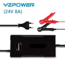 YZPOWER 29V 8A עופרת חומצת סוללה מטען עבור 24V חשמלי אופני קטנוע עם CE FCC ROHS SAA