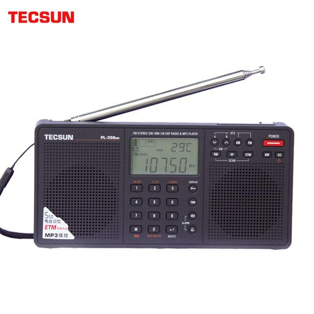 Радиоприемник TECSUN PL-398MP, FM/AM/SW MP3 1