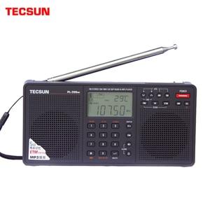 Image 1 - Tecsun PL 398MP נייד רדיו 2.2 מלא להקת דיגיטלי כוונון סטריאו FM/AM/SW רדיו מקלט MP3 נגן אינטרנט Fm רדיו