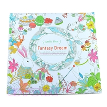 New Novelty Unisex Child Adult Fantasy Dream In Art Therapy Colouring Books Drop Shipping