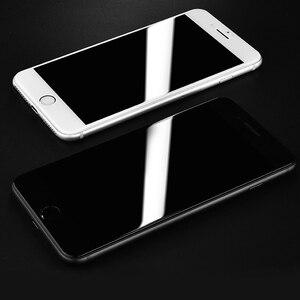 Image 5 - 50D Volle Abdeckung Gehärtetem Glas Für iphone 8 7 Plus 6 6s Glas display schutz Auf Die iphone X XS MAX XR 5 5S SE Schutz Glas