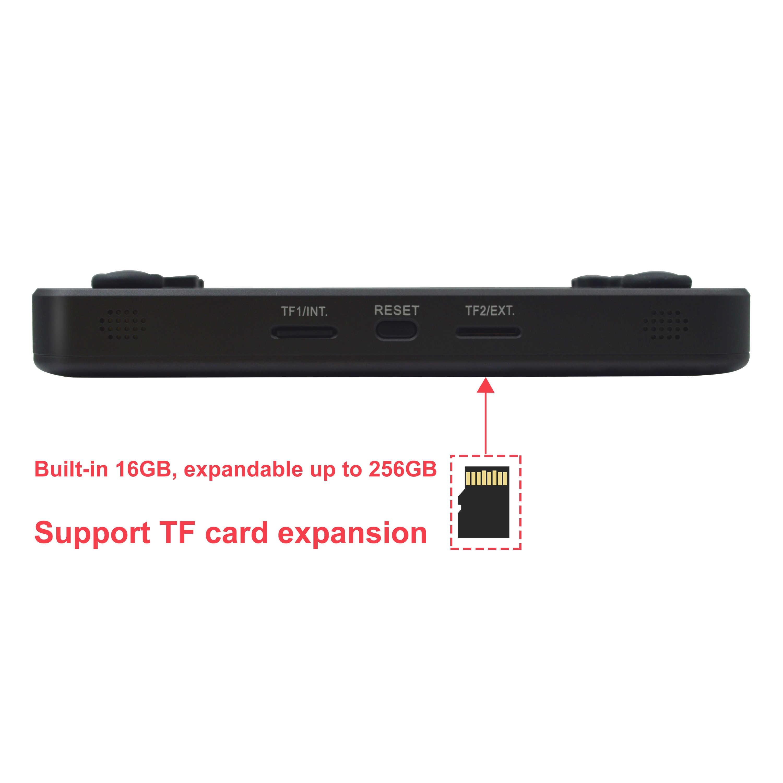ANBERNIC NUOVO RG350M Console di Gioco Retrò RG 350M PS1 Emulatore Lettore In Lega di Alluminio Borsette HDMI Uscita TV Palmare Portatile consola