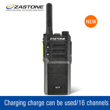 Zastone V77 Talk walky UHF 400-470MHz 1500mAh High Power Portable Radio Walkie Walkie Mini Radio Transceiver+Headset(China)