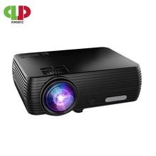 Puissant Support 720P projecteur X5 lecteur multimédia 3D Home Cinema jouer jeu en option Android wifi sans fil connecter téléphone portable