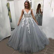 Женское вечернее платье с аппликацией soworthy длинное кружевное