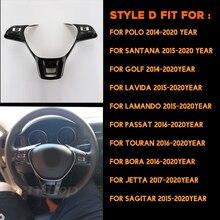 Car Universal Steering Wheel Remote Wireless Control Button For Volkswagen VW Jetta Golf Polo Passat Touran Bora Sagitar Santana