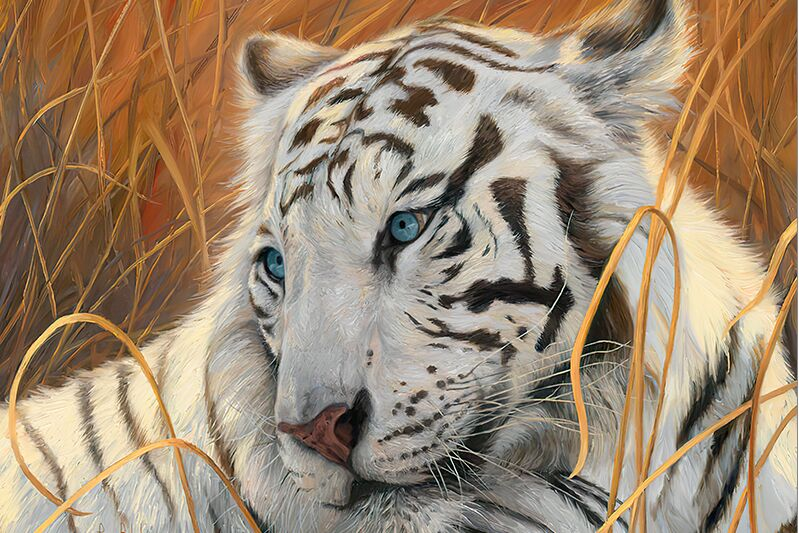 White Tiger, Twelve Zodiac  The Wooden Puzzle 1000 Pieces Ersion Jigsaw Puzzle White Card Adult Children's Educational Toys