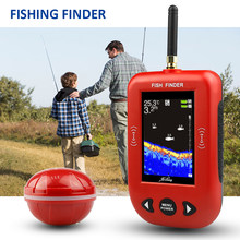 Erchang f3c portátil inventor de peixes sonar sem fio 200m distância alarme pesca eco sonar lago mar pesca