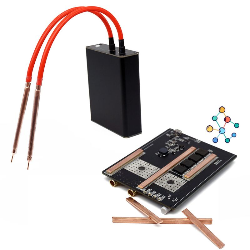 Tools : 1Set Mini Spot Welder 18650 Battery Nickel Strip Diy Spot Welding Machine Kits
