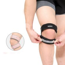 1PCS Adjustable Knee Support Brace Knee Patella Sleeve Wrap Cap Stabilizer Sports Knee Breathable Protection Patellar Belt 2(China)