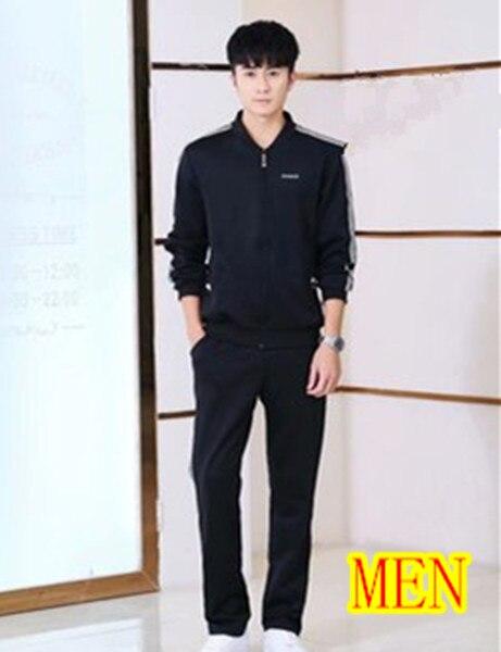 Men black suit