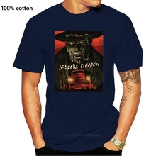 New Popular Jeepers Creepers Horror Thriller Movie Men's Black T Shirt S 3xl New Brand-clothing Grey