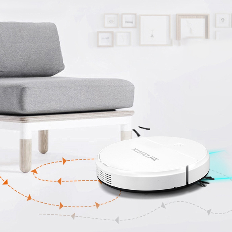 The smart robot vacuum - easy to use, store and clean