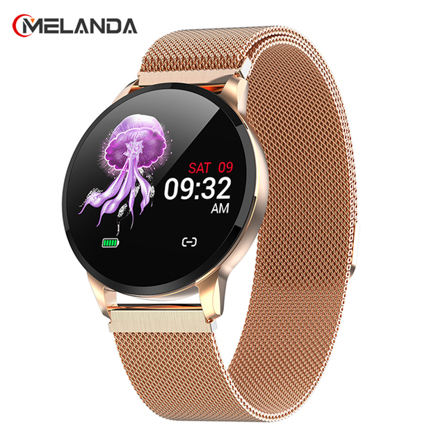 New Fitness Smart Watch Women Running Heart Rate Monitor Bluetooth Pedometer Touch Intelligent Sports Smartwatch Women Men