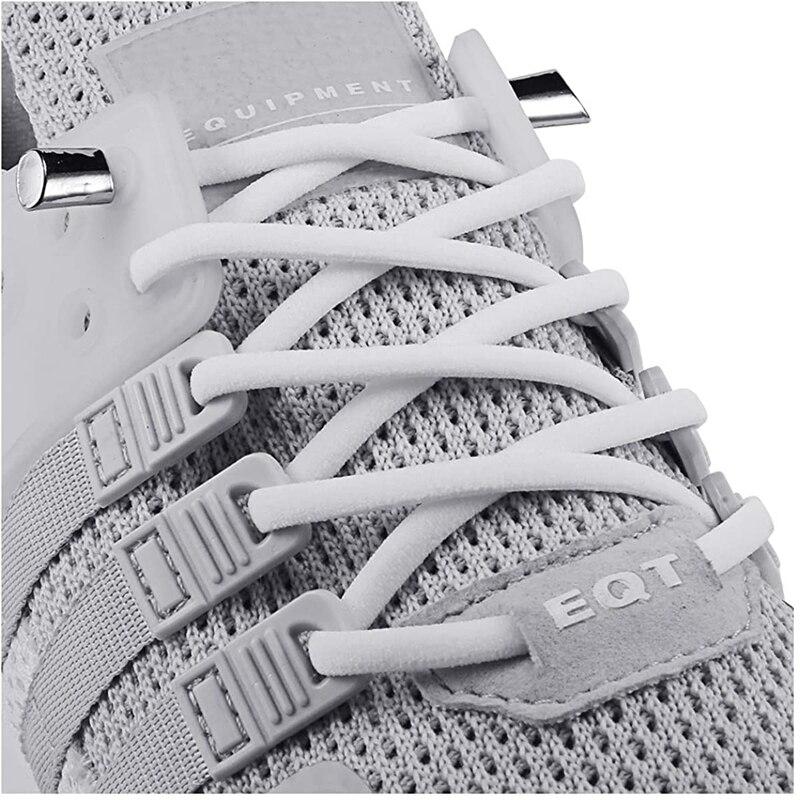 2Pcs Flat Shoe Laces Athletic Textured Shoelaces Shoe Boot  Sneaker Strong Round