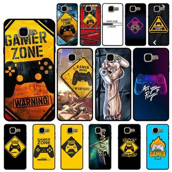 YNDFCNB for boys Gamer Zone Phone Case for Samsung A6 A8 Plus A7 A9 A20 A20S A30 A30S A40 A50 A70 image