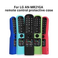 SIKAI-funda de silicona colorida para mando a distancia, cubierta para LG MR21GA (MR21N, MR21GC), para televisor LG OLED Magic, MR21 GA
