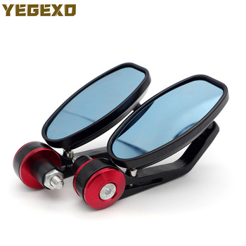 Motorcycle Mirror End Bar Mirrors Motorbike Accessories For BMW c600 sport r1100rt r1200gs 2004-2012 f800r r1150gs e 60 image