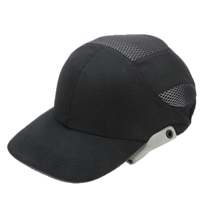 Image 5 - Safety Bump Cap With Reflective Head Workplace Construction Site Hat Black Stripes Lightweight and Breathable Hard Hat