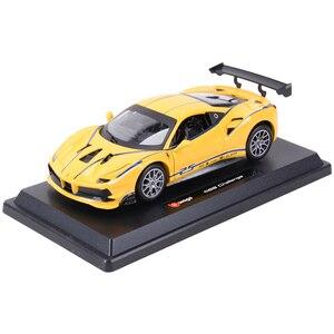 Image 5 - Bburago 1:24 Ferrari 488 ChallengeกีฬารถSTATIC Die Castรถสะสมรถของเล่น